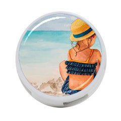 A Day At The Beach 4 Port Usb Hub (two Sides) by TonyaButcher