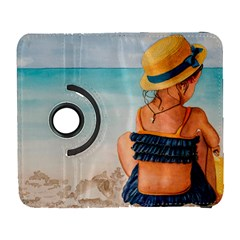 A Day At The Beach Samsung Galaxy S  Iii Flip 360 Case by TonyaButcher