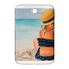 A Day At The Beach Samsung Galaxy Note 8 0 N5100 Hardshell Case  by TonyaButcher
