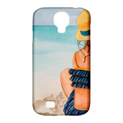 A Day At The Beach Samsung Galaxy S4 Classic Hardshell Case (pc+silicone) by TonyaButcher