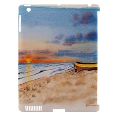 Sunset Beach Watercolor Apple Ipad 3/4 Hardshell Case (compatible With Smart Cover) by TonyaButcher