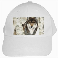 Hunter White Baseball Cap by TonyaButcher