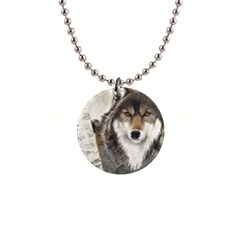 Hunter Button Necklace