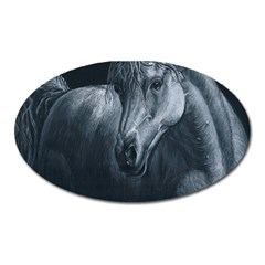 Equine Grace  Magnet (oval) by TonyaButcher