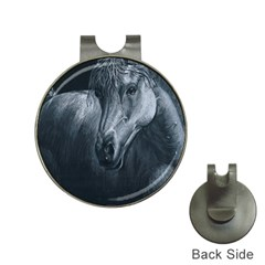 Equine Grace  Hat Clip With Golf Ball Marker by TonyaButcher