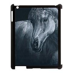 Equine Grace  Apple Ipad 3/4 Case (black) by TonyaButcher