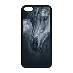 Equine Grace  Apple Iphone 5c Seamless Case (black) by TonyaButcher