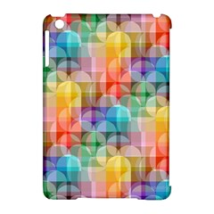Circles Apple Ipad Mini Hardshell Case (compatible With Smart Cover) by Lalita
