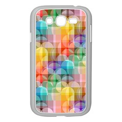 circles Samsung Galaxy Grand DUOS I9082 Case (White) by Lalita