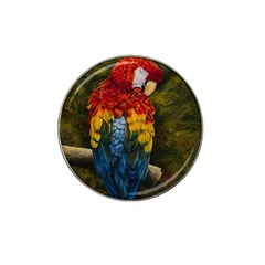 Preening Golf Ball Marker (for Hat Clip) by TonyaButcher