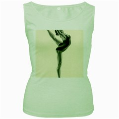 Attitude Women s Tank Top (green)