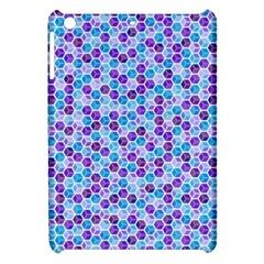 Purple Blue Cubes Apple Ipad Mini Hardshell Case by Zandiepants