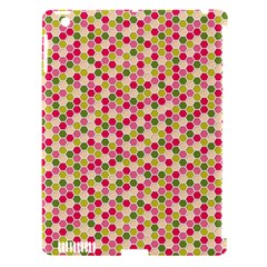 Pink Green Beehive Pattern Apple Ipad 3/4 Hardshell Case (compatible With Smart Cover) by Zandiepants