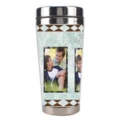 Fathers Day By Joely   Stainless Steel Travel Tumbler   7hz9luc704yn   Www Artscow Com Left