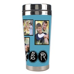 Fathers Day By Joely   Stainless Steel Travel Tumbler   41w9ind46he5   Www Artscow Com Right
