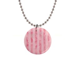 Pink Grunge Button Necklace by StuffOrSomething