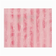 Pink Grunge Glasses Cloth (small, Two Sided)