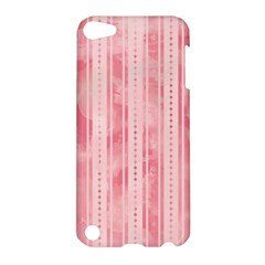 Pink Grunge Apple Ipod Touch 5 Hardshell Case by StuffOrSomething