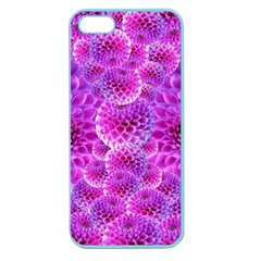 Purple Dahlias Apple Seamless Iphone 5 Case (color) by FunWithFibro