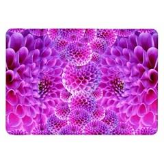 Purple Dahlias Samsung Galaxy Tab 8 9  P7300 Flip Case by FunWithFibro