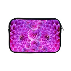 Purple Dahlias Apple Ipad Mini Zippered Sleeve by FunWithFibro