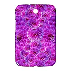 Purple Dahlias Samsung Galaxy Note 8 0 N5100 Hardshell Case  by FunWithFibro