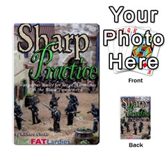 Sharp Practice By Steve Burt   Multi Purpose Cards (rectangle)   1imdvo3bc26s   Www Artscow Com Back 11