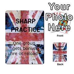 Sharp Practice By Steve Burt   Multi Purpose Cards (rectangle)   1imdvo3bc26s   Www Artscow Com Front 21