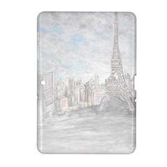 Eiffel Tower Paris Samsung Galaxy Tab 2 (10 1 ) P5100 Hardshell Case  by rokinronda