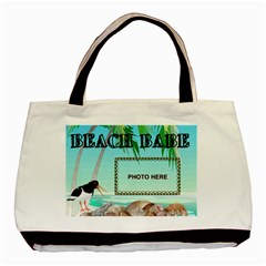 Beach Babe Tote Bag #2 By Joy Johns   Basic Tote Bag (two Sides)   Ptp1t0h1v3iw   Www Artscow Com Front