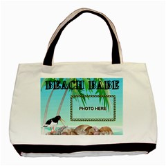 Beach Babe Tote Bag #2 By Joy Johns   Basic Tote Bag (two Sides)   Ptp1t0h1v3iw   Www Artscow Com Back