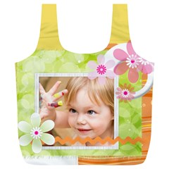 Kids By Joely   Full Print Recycle Bag (xl)   Inv2rox5ocpu   Www Artscow Com Back