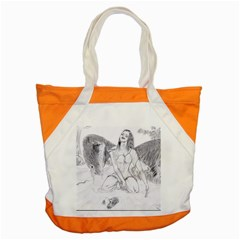 Bleeding Angel 1  Accent Tote Bag by 55555