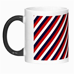 Diagonal Patriot Stripes Morph Mug by StuffOrSomething