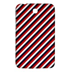 Diagonal Patriot Stripes Samsung Galaxy Tab 3 (7 ) P3200 Hardshell Case  by StuffOrSomething