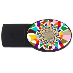 Focus 2gb Usb Flash Drive (oval) by Lalita