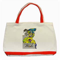 Faerie Wish Classic Tote Bag (red) by StuffOrSomething