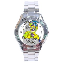 Faerie Wish Stainless Steel Watch by StuffOrSomething