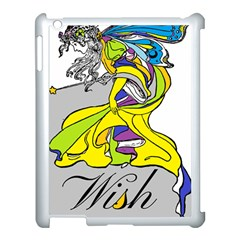 Faerie Wish Apple Ipad 3/4 Case (white) by StuffOrSomething