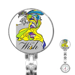 Faerie Wish Stainless Steel Nurses Watch by StuffOrSomething