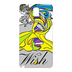 Faerie Wish Samsung Galaxy Note 3 N9005 Hardshell Back Case by StuffOrSomething