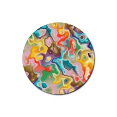 Marble Drink Coaster (round) by Lalita