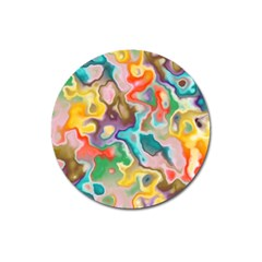 Marble Magnet 3  (round) by Lalita