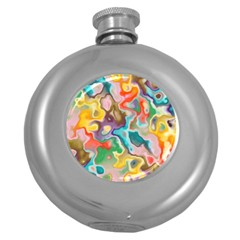 Marble Hip Flask (round) by Lalita