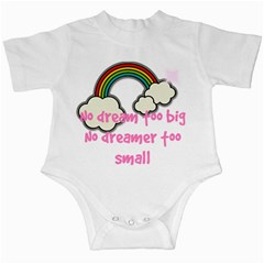No Dream Too Big Girl Infant Creeper by PMAKIDS