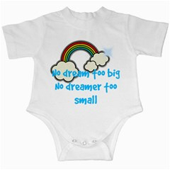 No Dream Too Big Boy Infant Creeper by PMAKIDS