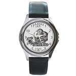 Kansas Round Metal Watch