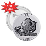 Kansas 2.25  Button (100 pack)