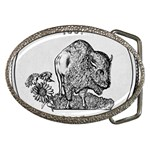 Kansas Belt Buckle