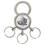 Kansas 3-Ring Key Chain